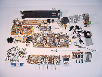 Fisher 450-T receiver MISC HARDWARE SPARE PART LOT with pdf-manuals