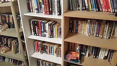 155 Used Books, Fiction and Non-Fiction, Paperback and Hardcover