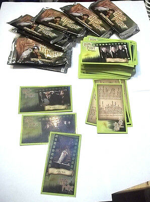 HARRY POTTER   And the Sorcerer's Stone 100+crds wrappers 3 Foils  crds
