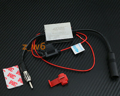 Car Radio Receiver In-Line AM// FM Signal Amplified Booster GC13-BST