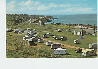 STRATHLENE CARAVAN SITE BUCKIE / BY THE GOLF COURSE 1970s OLD VIEW VINTAGE / PC