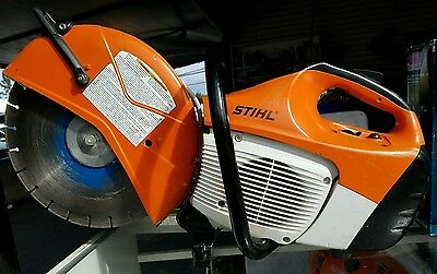 Stihl TS 420 Gas Powered Cutquik Commercial Concrete Cut Off Saw