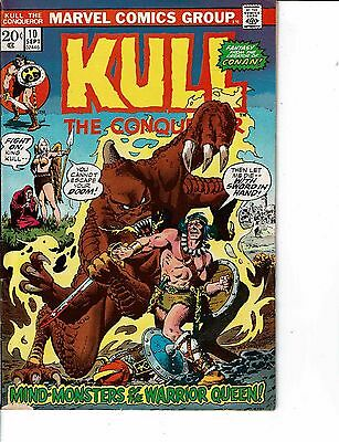 Lot Of 2 Comic Books Marvel Kull #10 and Marvel Double Feature #2 ON7