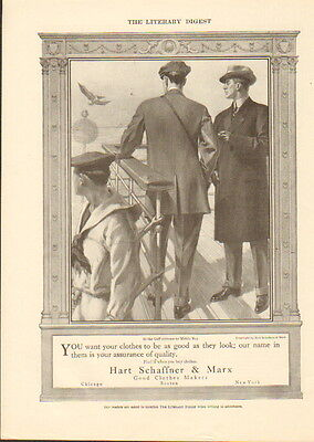 1911 Hart Schaffner & Marx ad Clothes-clothing ad /803