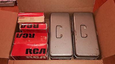 RCA Adapter Kits for CRT Servicing 26 pieces Vintage Testing Equipment