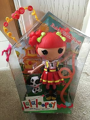 NEW Lalaloopsy Ember Flicker Flame doll Firefighter