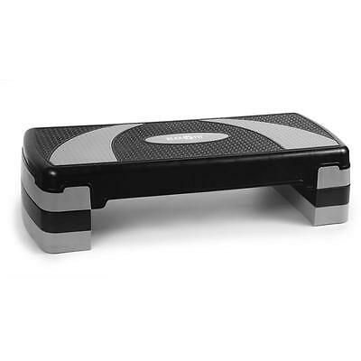 Aerobic Stepper Cardio Fitness Step 3 Levels 250Kg Max Home Gym Exercise Block