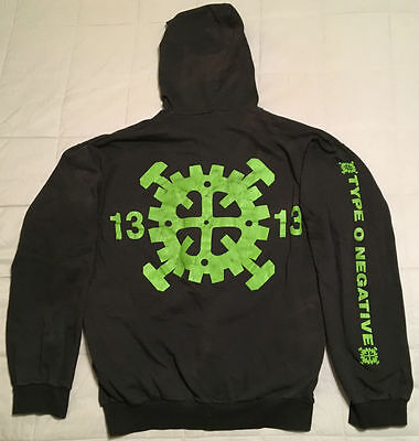 1993 Type O Negative Brothers In Blood Hoodie Vtg t-shirt peter steele carnivore