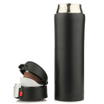 500ML Travel Mug Tea Coffee Water Vacuum Cup Thermos Bottle Stainless Steel G2F7
