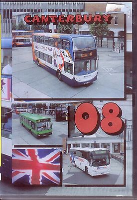 DVD - Buses Canterbury Ramsgate 2008 - Stagecoach East Kent - PMP Transport