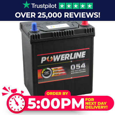 054 Car Battery - 12V MF53504 - 4 Years Warranty