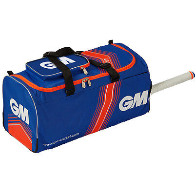 Gunn & Moore 404 Cricket Holdall Rucksack Bag Blue / Red (4079)