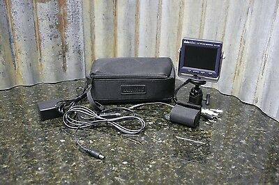"""Datavideo TLM-350 3.5"""" Portable Hot Shoe Mount TFT LCD Monitor Great Condition"""
