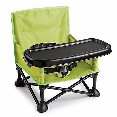 NEW Infant Pop n' Sit Portable Booster Carry Baby Chair Folding Child Seat