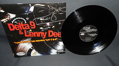 """12"""" Delta 9 & Lenny Dee - Nobody Likes The Records That I Play - AWW 2 - USA"""