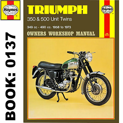 Triumph 350 500 Unit Twins inc Tiger 1958-79 Haynes Workshop Manual