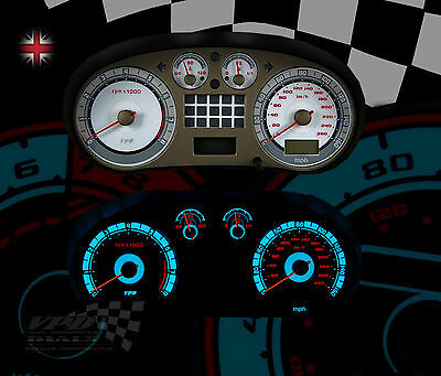Seat leon mk1 Cupra speedo clock interior dash custom bulb lighting dial kit