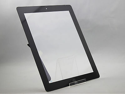 iPad 3 LCD DISPLAY TOUCHSCREEN Digitizer GLAS SCHWARZ + HOMEBUTTON + Werkzeugset