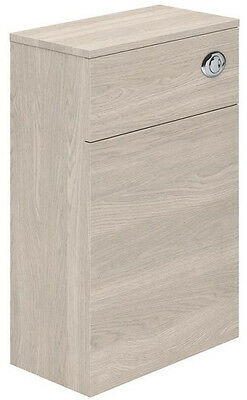Newton WC Unit in Light Elm (inc. Concealed Cistern) 500mm