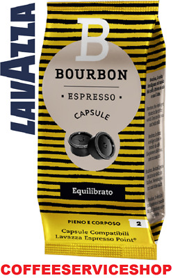 600 Capsule Espresso Point Bourbon Equilibrato -Originale Lavazza Point-