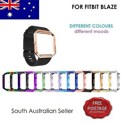 For FITBIT BLAZE Stainless Steel Metal Frame Cover FITBIT BLAZE SA & AU SELLER