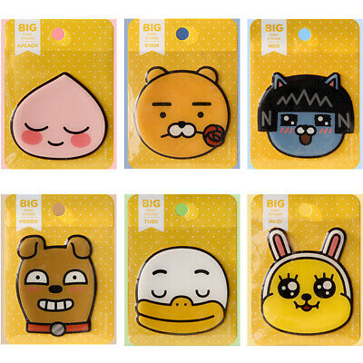 KakaoKakao Friends Character Big point Face Epoxy Stickers official goods comic