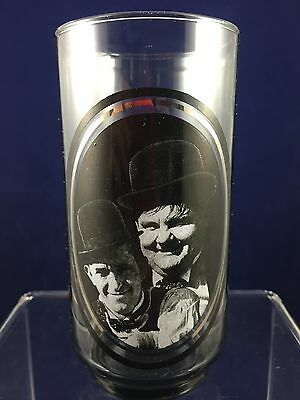 Vintage! Drinking Glass - Arby's Collectors Series - Laurel & Hardy - 3 of 6