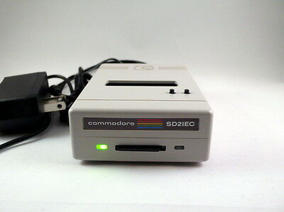 Commodore 1541 Disk drive emulation - SD2IEC LCD