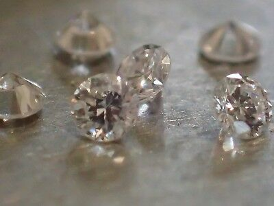 5 diamants - 2.50mm - VVS2/E - SUPERBES !!!