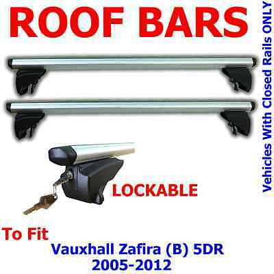 Genuine Vauxhall Zafira B Roof Bars Rack Carrier Without