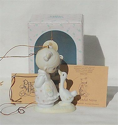 1991 Precious Moments Ornament Make a Joyful Noise
