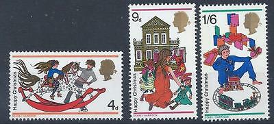 GB 1968 SG775-777 Christmas Set Mint MNH