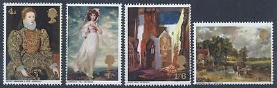 GB 1968 SG771-774 British Paintings Set Mint MNH