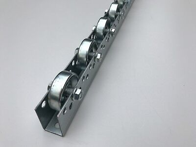roller track flow rail roller gravity conveyor with steel rollers dia 48 mm