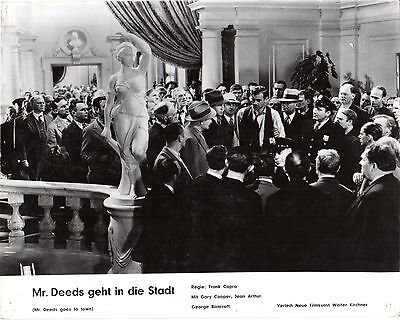 Mr. Deeds Goes to Town German lobby card Capra, Gary Cooper Jean Arthur Bancroft
