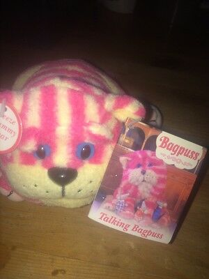 Talking Bagpuss - Golden Bear Products 2002 DOESNT TALK MAY NEED BATTERIES