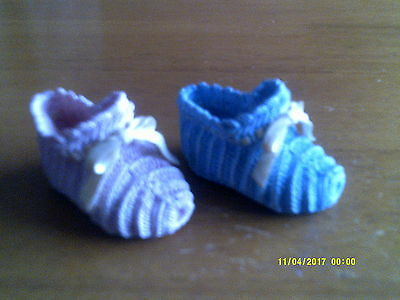 2 JUST THE RIGHT SHOE- COLLECTIBLE SHOES BY RAINE its's a girl/it's a boy