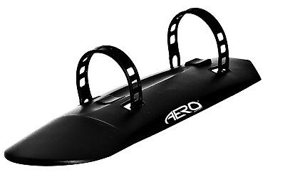 Aero Sport® Bicycle Front Downtube Easy Fit Mudguard Black 16-28""