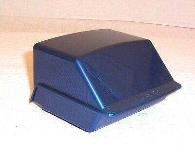 ROLODEX S300C Petite BLUE Covered Address File w/ Tabs & Lined Cards Vintg  NOB