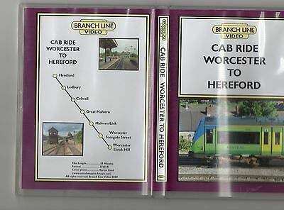 Cab Ride Branch Line  Worcester To Hereford