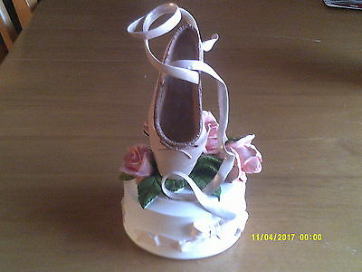 MUSICAL JUST THE RIGHT SHOE- COLLECTIBLE - BY RAINE Arabesque