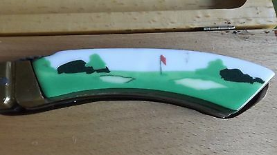 Limoges golf collectible hole in one golf pattern