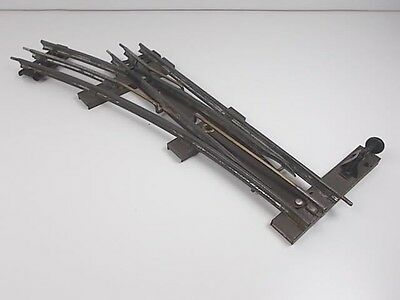 French Hornby O Gauge Left-hand Point
