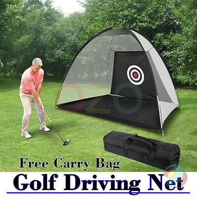 Portable Golf Training Net Tent Practice Driving Chipping Soccer Cricket Target