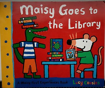 Maisie goes to the library childrens book