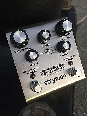Strymon Deco Tape Saturation & Doubletracker Pedal-Brand New- Authorized Dealer