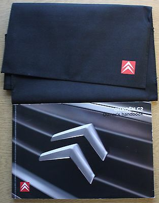 Citroen C2 Manual Handbook Wallet 2008-2009 Pack 11934