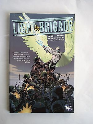 Light Brigade by Peter J. Tomasi: paperback 1st edition 2005 Mint Condition