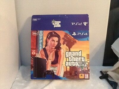 Sony Playstation 4 PS4 500GB slim (Empty Box Only With Bags And Manuals) GTA