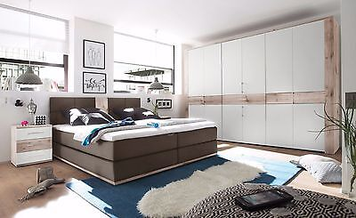 New Bedroom Furniture Set 4 Items | Super King Size Bed with Upholstery TAMPA